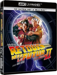 Retour vers le futur II (1989) de Robert Zemeckis – Packshot Blu-ray 4K Ultra HD
