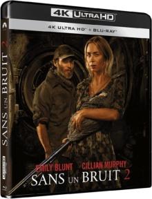 Sans un bruit 2 (2020) de John Krasinski – Packshot Blu-ray 4K Ultra HD