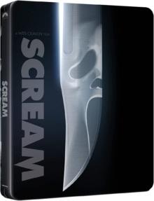 Scream (1996) de Wes Craven - Édition Limitée Steelbook – Packshot Blu-ray 4K Ultra HD