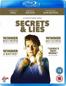 Secrets et mensonges - Jaquette Blu-ray UK