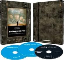 Il faut sauver le soldat Ryan (1998) de Steven Spielberg – Édition Limitée Exclusivité Fnac Steelbook - Packshot Blu-ray 4K Ultra HD