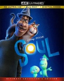 Soul (2020) de Pete Docter et Kemp Powers – Packshot Blu-ray 4K Ultra HD