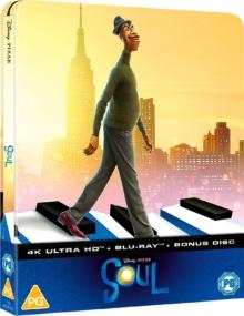 Soul (2020) de Pete Docter et Kemp Powers – Steelbook - Packshot Blu-ray 4K Ultra HD