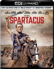 Spartacus (1960) de Stanley Kubrick – Packshot Blu-ray 4K Ultra HD