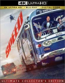 Speed (1994) de Jan de Bont - Packshot Blu-ray 4K Ultra HD