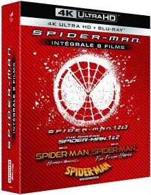 Spider-Man : L'intégrale de 8 Films – Packshot Blu-ray 4K Ultra HD