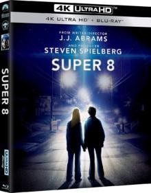 Super 8 (2011) de J.J. Abrams – Packshot Blu-ray 4K Ultra HD