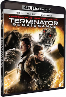 Terminator renaissance (2009) de McG - Packshot Blu-ray 4K Ultra HD