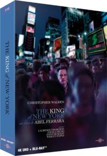 The King of New York (1990) de Abel Ferrara - Édition Prestige – Packshot Blu-ray 4K Ultra HD