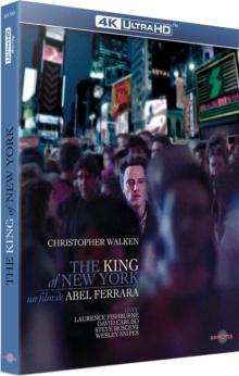 The King of New York (1990) de Abel Ferrara – Packshot Blu-ray 4K Ultra HD