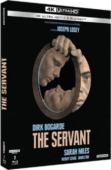 The Servant (1963) de Joseph Losey - Édition Collector – Packshot Blu-ray 4K Ultra HD