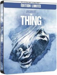 The Thing (1982) de John Carpenter - Édition boîtier SteelBook – Packshot Blu-ray 4K Ultra HD
