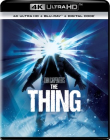 The Thing (1982) de John Carpenter - Packshot Blu-ray 4K Ultra HD