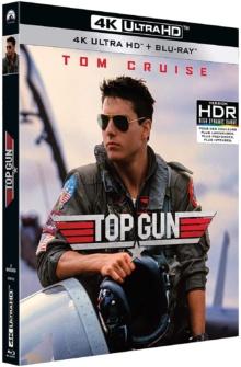 Top Gun (1986) de Tony Scott – Packshot Blu-ray 4K Ultra HD