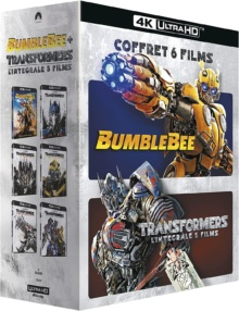 Transformers : L'intégrale 5 films + Bumblebee – Packshot Blu-ray 4K Ultra HD