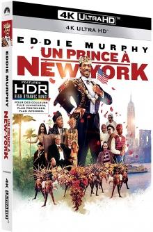 Un prince à New York (1988) de John Landis – Packshot Blu-ray 4K Ultra HD