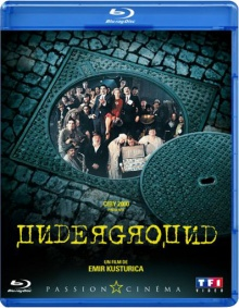 Underground - Jaquette Blu-ray TF1 Vidéo
