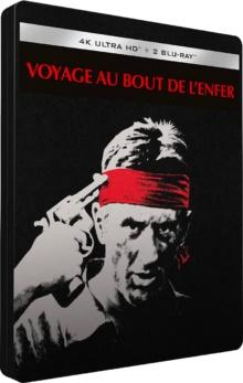 Voyage au bout de l'enfer (1978) de Michael Cimino - Édition Steelbook – Packshot Blu-ray 4K Ultra HD