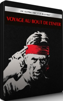 Voyage au bout de l'enfer (1978) de Michael Cimino – Édition Steelbook – Packshot Blu-ray 4K Ultra HD
