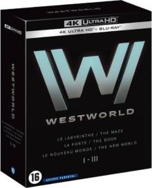 Westworld - Saisons 1 à 3 – Packshot Blu-ray 4K Ultra HD