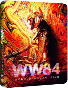 Wonder Woman 1984 (2020) de Patty Jenkins - Édition SteelBook – Packshot Blu-ray 4K Ultra HD