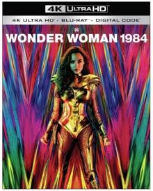 Wonder Woman 1984 (2020) de Patty Jenkins – Packshot Blu-ray 4K Ultra HD