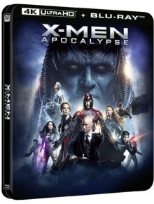 X-Men : Apocalypse (2016) de Bryan Singer – Édition boîtier SteelBook - Packshot Blu-ray 4K Ultra HD