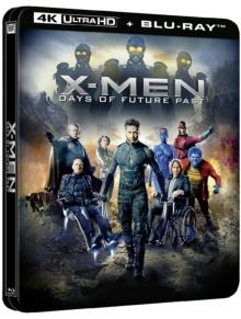 X-Men : Days of Future Past (2014) de Bryan Singer – Édition boîtier SteelBook - Packshot Blu-ray 4K Ultra HD