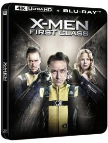 X-Men : Le commencement (2011) de Matthew Vaughn – Édition boîtier SteelBook - Packshot Blu-ray 4K Ultra HD