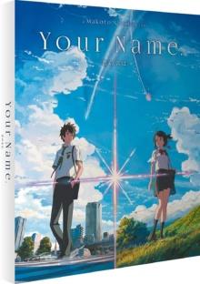 Your Name. (2016) de Makoto Shinkai – Packshot Blu-ray 4K Ultra HD