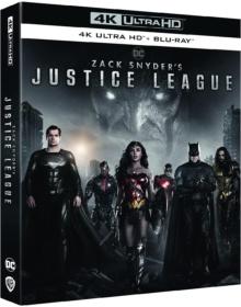 Zack Snyder's Justice League (2021) de Zack Snyder – Packshot Blu-ray 4K Ultra HD