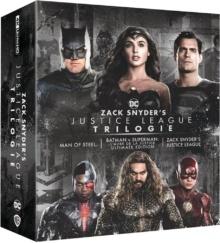 Zack Snyder Justice League Trilogie – Packshot Blu-ray 4K Ultra HD