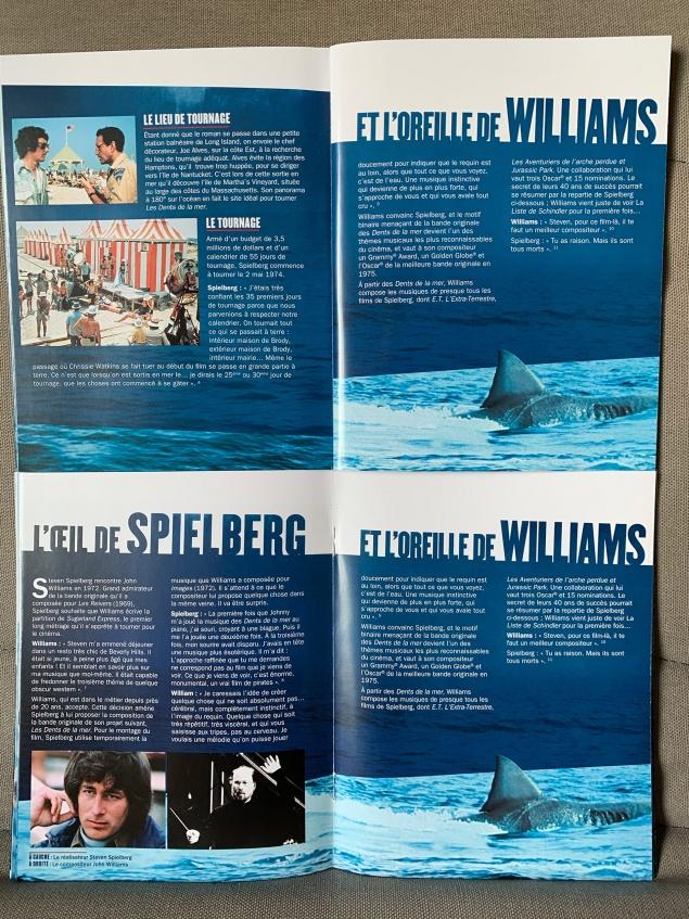 Les Dents de la mer (1975) de Steven Spielberg – Édition 45e anniversaire – Boîtier SteelBook Collector – Livret corrigé