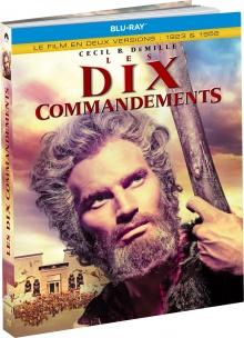Les Dix commandements (versions de 1923 et 1956) de Cecil B. DeMille - Édition Blu-ray Médiabook – Packshot Blu-ray