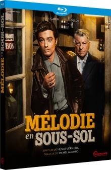 Mélodie en sous-sol (1963) de Henri Verneuil – Packshot Blu-ray