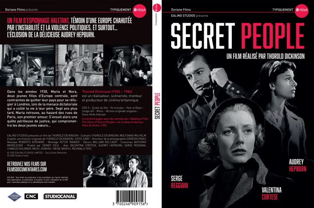 Secret People - Jaquette DVD
