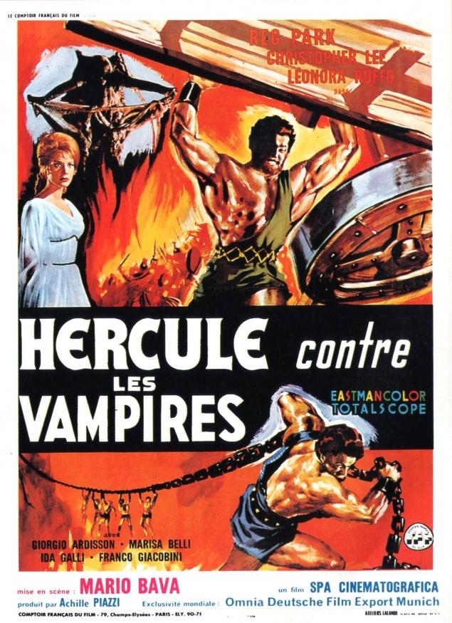 Hercule contre les vampires - Affiche