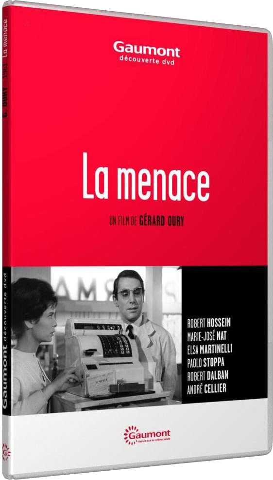 La Menace (1961) - Jaquette DVD