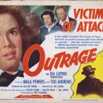 Outrage - Affiche US 1950