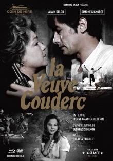 La Veuve Couderc - Jaquette Blu-ray