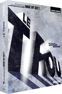 Le Trou (1960) de Jacques Becker - Édition Digipack 2 Blu-ray + Livre – Packshot Blu-ray