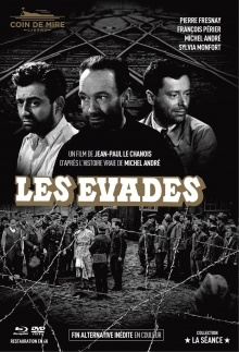 Les Évadés - Jaquette Blu-ray