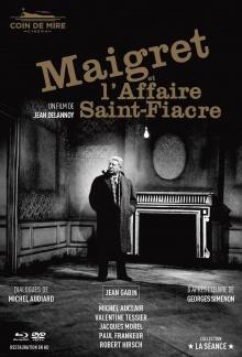 Maigret et l'Affaire Saint-Fiacre - Jaquette Blu-ray