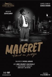 Maigret tend un piège - Jaquette Blu-ray