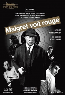 Maigret voit rouge - Jaquette Blu-ray
