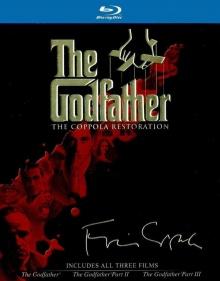 The Godfather - Le Parrain 3 - Jaquette Coffret Blu-ray