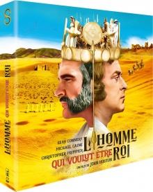 L'Homme qui voulut être roi (1975) de John Huston - Édition Collector Blu-ray + DVD + Livre - Packshot Blu-ray