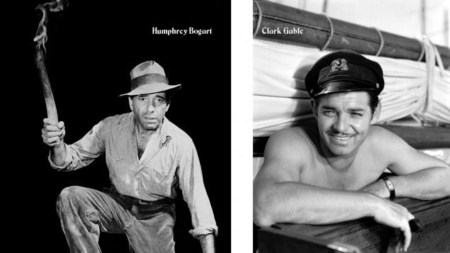 L'Homme qui voulut être roi - Bogart / Gable