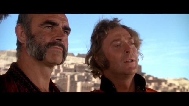 L'Homme qui voulut être roi - Capture Blu-ray Warner