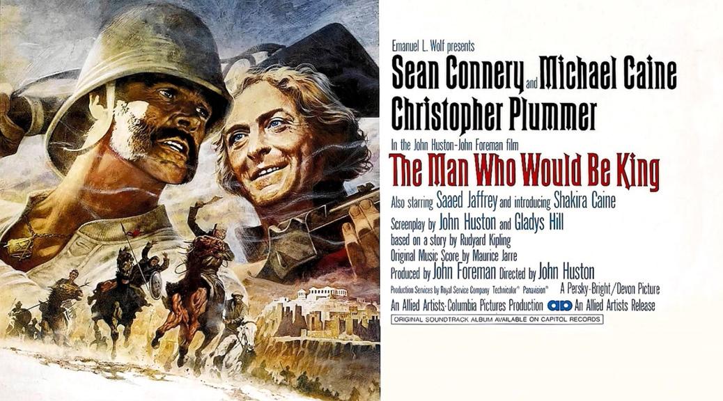 L'Homme qui voulut être roi - Image une Test Blu-ray